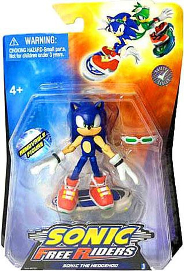 Free Riders Sonic The Hedgehog Action Figure