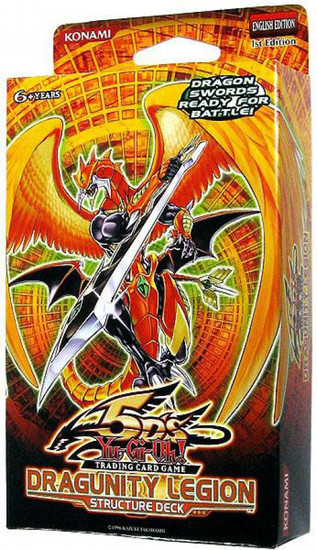 YuGiOh Trading Card Game Dragunity Legion (1st Edition) Structure Deck