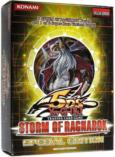 YuGiOh Trading Card Game Storm of Ragnarok Special Edition [3 Booster Packs & Promo Card]