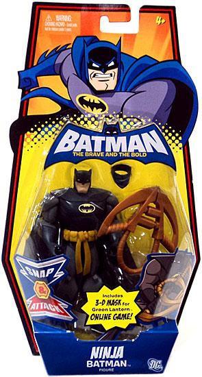 The Brave and the Bold Ninja Batman Action Figure