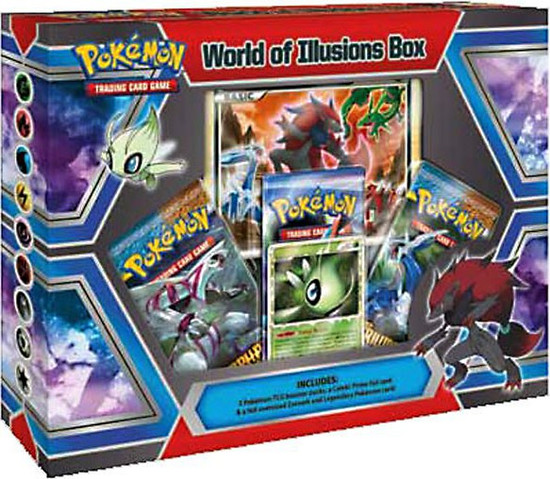 Pokemon Trading Card Game HeartGold & Soulsilver World of Illusions Special Edition