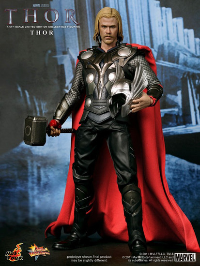 Marvel Movie Masterpiece Thor Collectible Figure [Thor Movie]