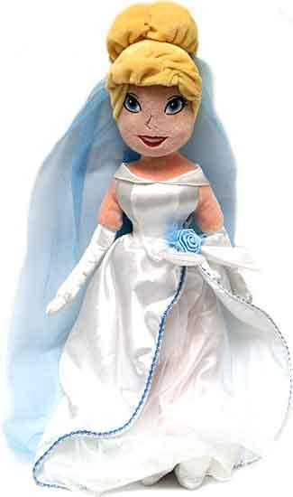 Disney Princess Cinderella Exclusive 21-Inch Plush Doll [Wedding Dress]