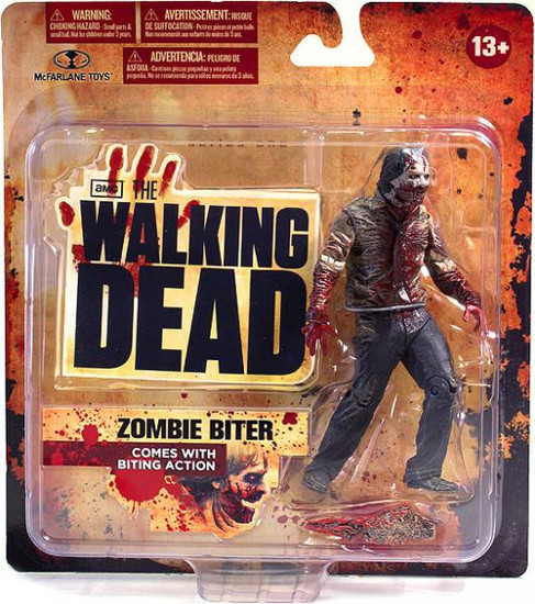 McFarlane Toys The Walking Dead AMC TV Series 1 Zombie Biter Action Figure