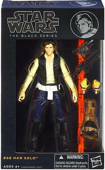 Star Wars A New Hope Black Series Wave 2 Han Solo Action Figure #08