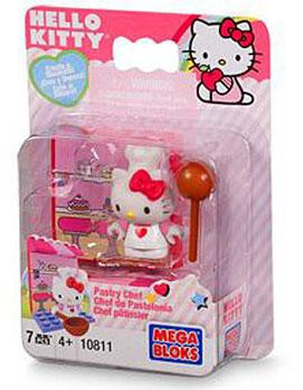 Mega Bloks Hello Kitty Pastry Chef Set #10811