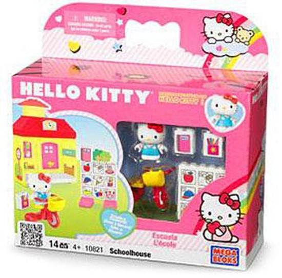Mega Bloks Hello Kitty Schoolhouse Set #10821