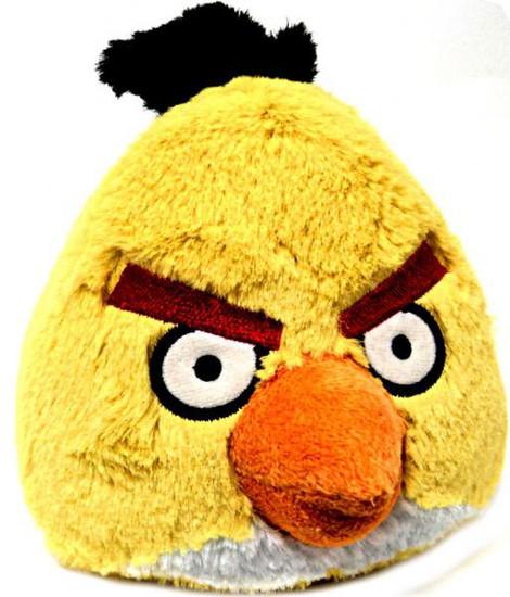 Angry Birds Yellow Bird 16-Inch Plush