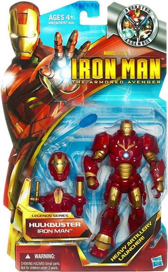 The Armored Avenger Legends Series 6 Hulkbuster Iron Man Action Figure