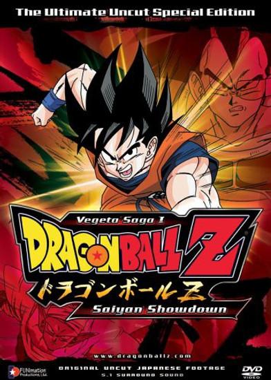 Dragon Ball Z Vegeta Saga 1 Saiyan Showdown Special Edition DVD #01 [Uncut]