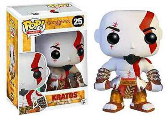 Funko God of War POP! Games Kratos Vinyl Figure #25