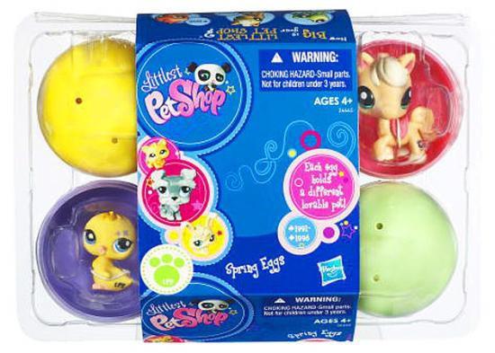 Littlest Pet Shop Easter Eggs 6-Pack of Figures