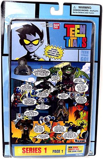 Teen Titans Go! Series 1 Comic Book Heroes Page 1 1.5-Inch Mini Figure