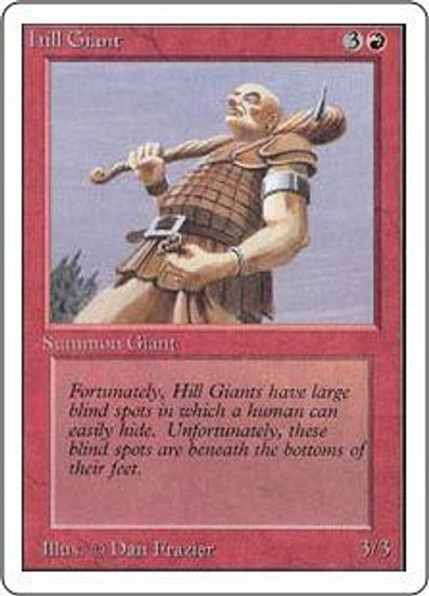 MtG Unlimited Common Hill Giant