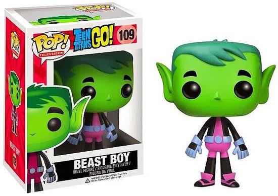 Funko Teen Titans Go! POP! TV Beast Boy Vinyl Figure #109