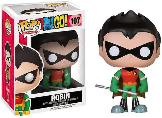 Funko Teen Titans Go! Robin Vinyl Figure #107