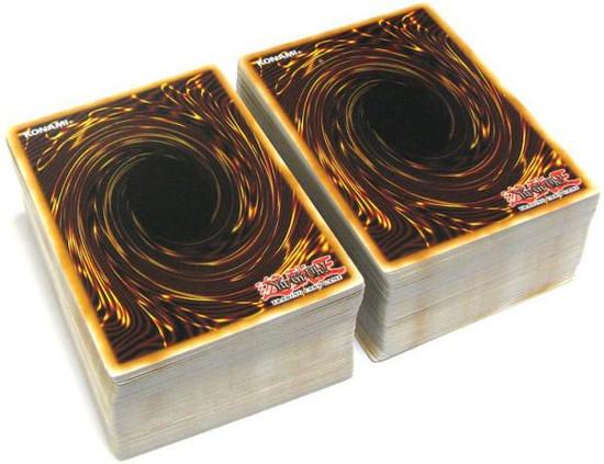 YuGiOh Custom ULTRA Value LOT of 200 Single Cards [180 RANDOM + 20 Rares]