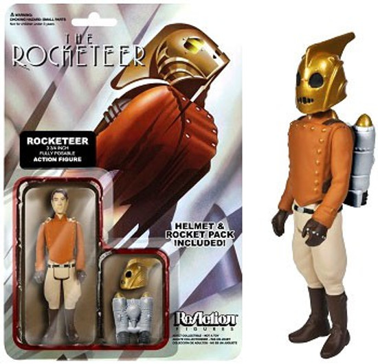 Funko The Rocketeer ReAction Rocketeer Action FIgure