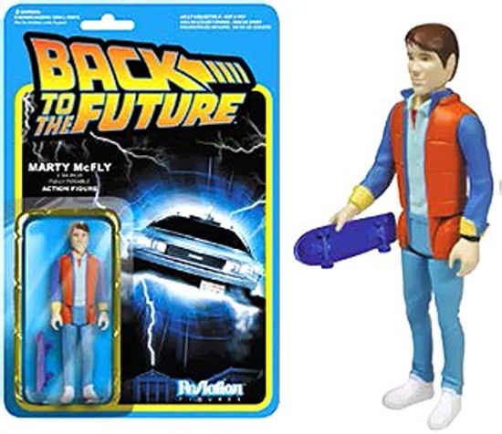 Funko Back to the Future ReAction Marty McFly Action FIgure