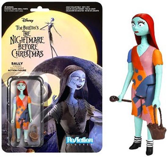 Funko Nightmare Before Christmas ReAction Sally Action Figure