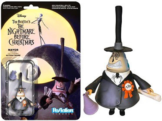 Funko Nightmare Before Christmas ReAction Mayor Action Figure