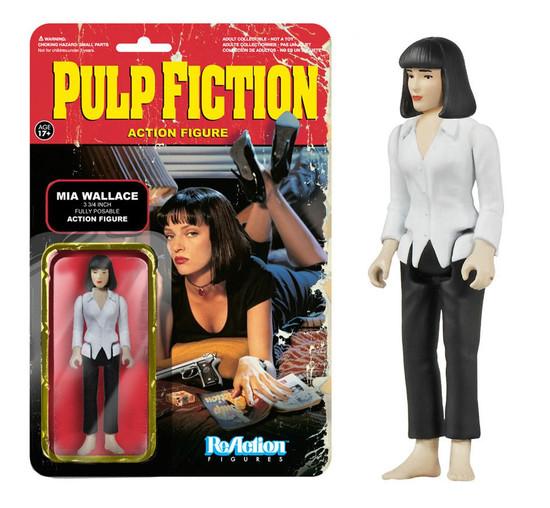 Funko Pulp Fiction ReAction Mia Wallace Action Figure