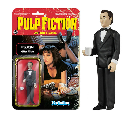 Funko Pulp Fiction ReAction The Wolf Action Figure
