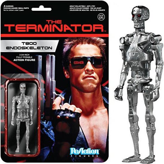 Funko Terminator ReAction T800 Endoskeleton Action Figure