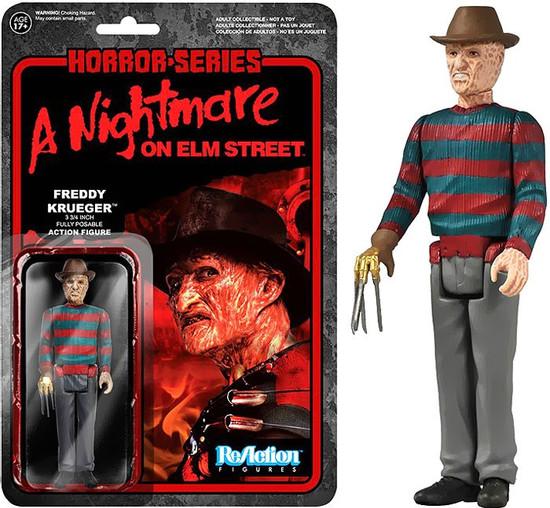 Funko Nightmare on Elm Street ReAction Freddy Krueger Action Figure