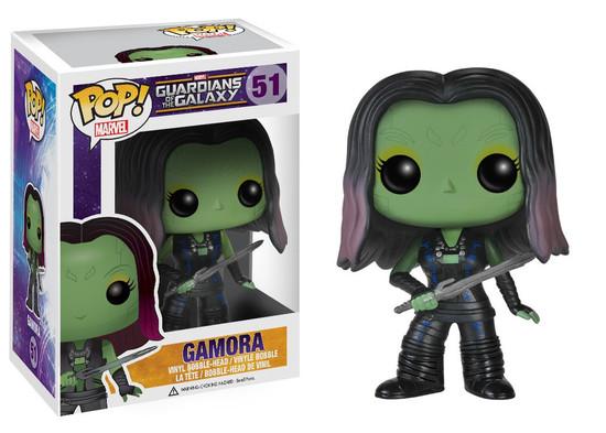 Funko Guardians of the Galaxy POP! Marvel Gamora Vinyl Bobble Head #51