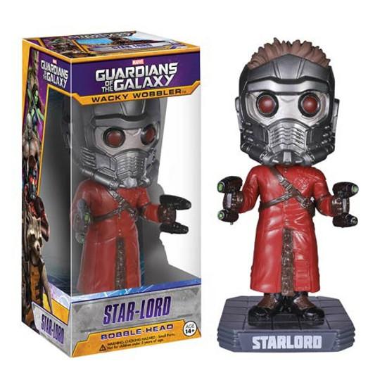 Funko Marvel Guardians of the Galaxy Wacky Wobbler Star-Lord Bobble Head