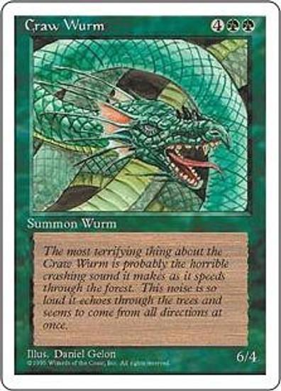MtG 4th Edition Common Craw Wurm