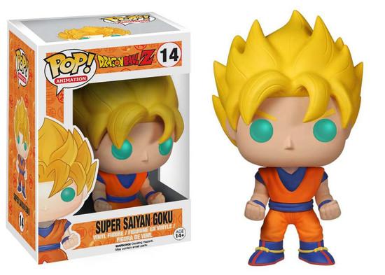 Funko Dragon Ball Z POP! Animation Super Saiyan Goku Vinyl Figure #14