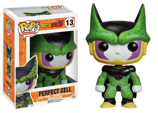 Funko Dragon Ball Z POP! Animation Perfect Cell Vinyl Figure #13