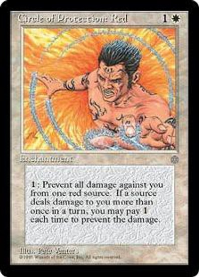 MtG Ice Age Common Circle of Protection: Red