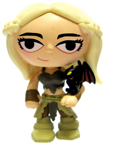 Funko Game of Thrones Series 1 Mystery Minis Daenerys Targaryen 1/24 Rare Mystery Minifigure [Drogon Version Loose]