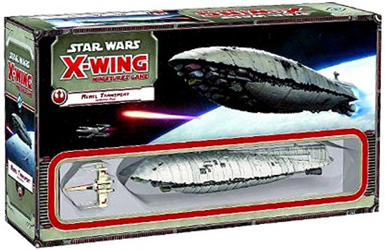 Star Wars X-Wing Miniatures Game Rebel Transport Expansion Pack