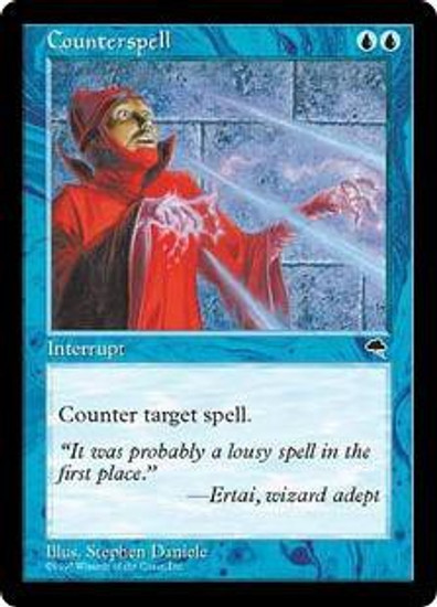 MtG Tempest Common Counterspell