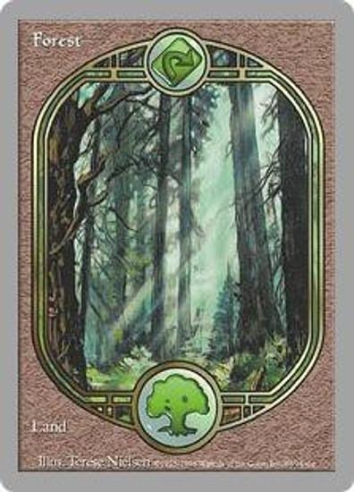 MtG Unglued Common Forest [RANDOM Artwork] [Slightly Played]