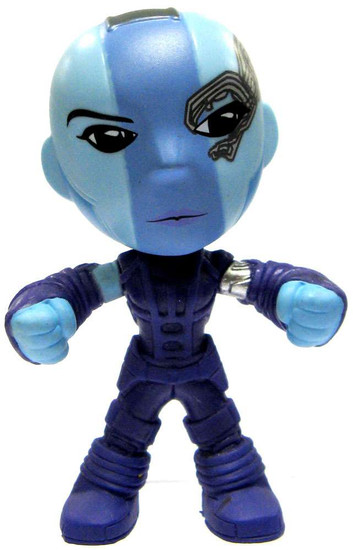 Funko Marvel Guardians of the Galaxy Mystery Minis Nebula 2-Inch 1/12 Mystery Minifigure [Glow in the Dark Loose]