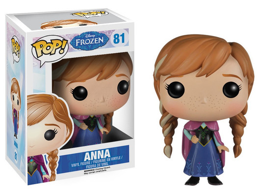 Funko Disney Frozen POP! Movies Anna Vinyl Figure #81