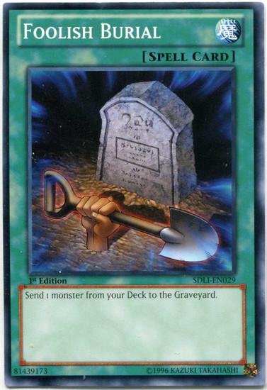 YuGiOh Realm of Light Common Foolish Burial SDLI-EN029