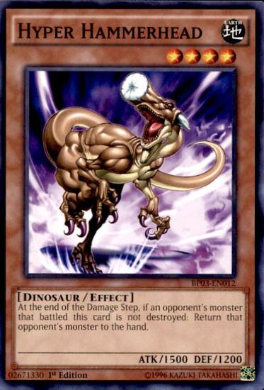 YuGiOh Battle Pack 3 Monster League Common Hyper Hammerhead BP03-EN012