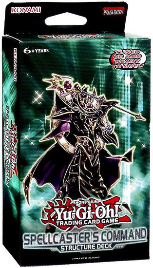 YuGiOh Trading Card Game Spellcaster's Command Structure Deck