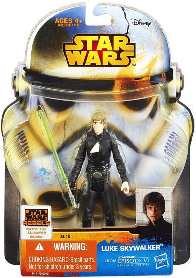 Star Wars Return of the Jedi Saga Legends 2014 Luke Skywalker Action Figure SL10