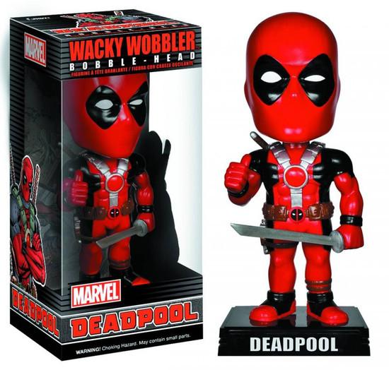 Funko Marvel Wacky Wobbler Deadpool Bobble Head