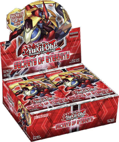 YuGiOh Trading Card Game Secrets of Eternity Booster Box [24 Packs]