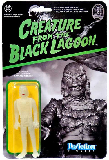 Funko Universal Monsters ReAction Creature From The Black Lagoon Action Figure [Glow-in-The-Dark]
