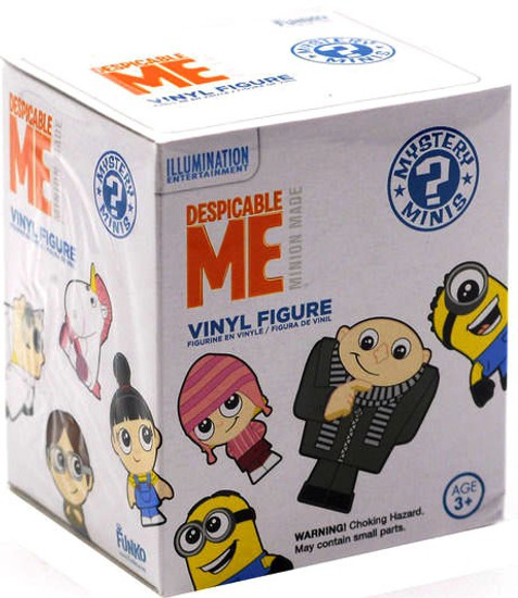 Funko Despicable Me Mystery Minis Minion Made Mystery Pack [1 RANDOM Figure]
