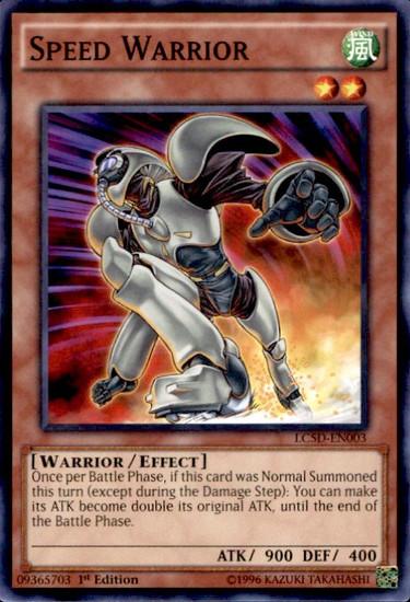 YuGiOh YuGiOh 5D's Legendary Collection Mega Pack Common Speed Warrior LC5D-EN003